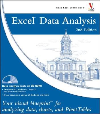 Image for Excel Data Analysis: Your Visual Blueprint for Analyzing Data, Charts, and PivotTables, 2nd Edition (Visual Blueprint)