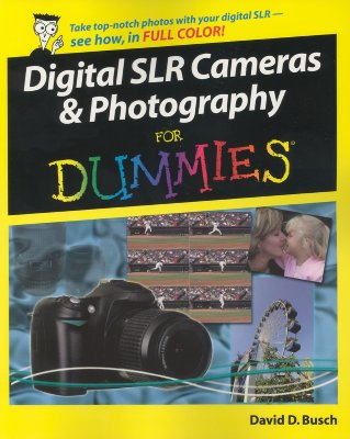 Image for Digital SLR Cameras and Photography For Dummies