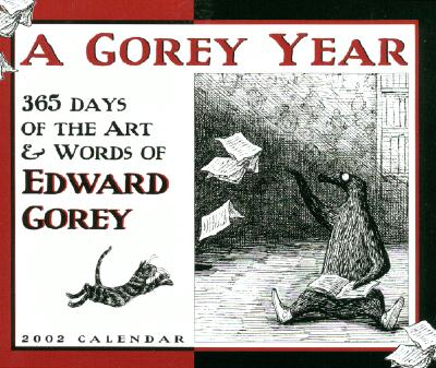 Image for 365 Days of Art and Words of Edward Gorey 2002 Calendar