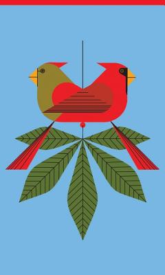 Image for Cardinals Consorting 3 X 5 Notepad