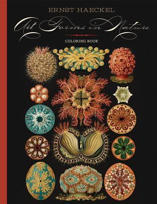 Image for Ernst Haeckel: Art Forms in Nature Coloring Book
