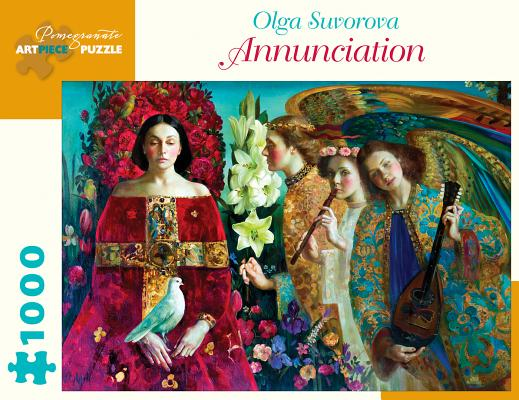 Image for Olga Suvorova Annunciation 1000-Piece Jigsaw Puzzle