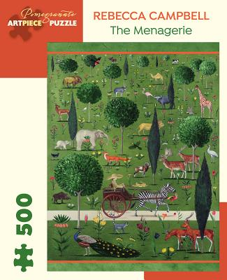 Image for Rebecca Campbell: The Menagerie 500-Piece Jigsaw Puzzle