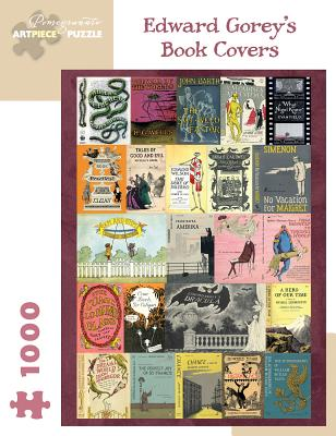 Image for Edward Gorey's Book Covers: 1000-Piece Jigsaw Puzzle