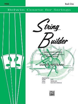 String Builder, Bk 1: Viola (Belwin Course for Strings), Applebaum, Samuel