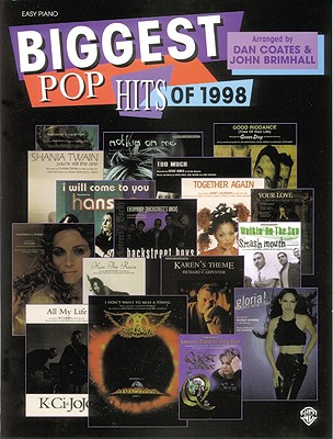 Image for Biggest Pop Hits of 1998
