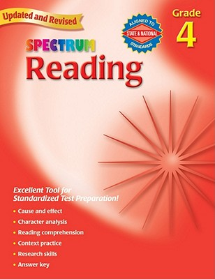 Spectrum Reading, Grade 4, School Specialty Publishing