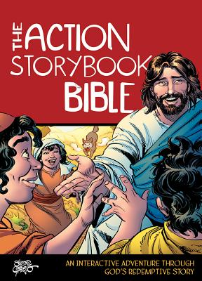 Image for The Action Storybook Bible: An Interactive Adventure through God's Redemptive Story (Action Bible Series)