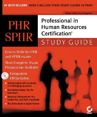 Image for PHR/SPHR: Professional in Human Resources Certification Study Guide