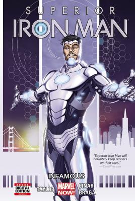 Image for SUPERIOR IRON MAN VOL. 1: INFAMOUS