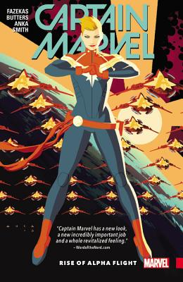 Captain Marvel Vol. 1: Rise of Alpha Flight, Butters, Tara; Fazekas, Michele