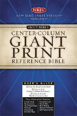 Holy Bible New King James Version Classic Giant Print Center Column Reference Bible