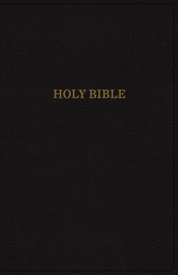 Image for KJV, Deluxe Thinline Reference Bible, Imitation Leather, Black, Red Letter Edition