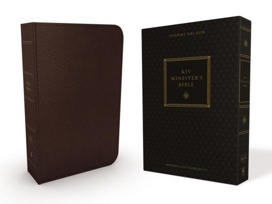 Image for KJV, Minister's Bible, Imitation Leather, Brown, Red Letter Edition