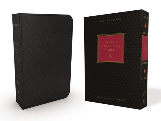 Image for NKJV, Minister's Bible, Genuine Leather, Black, Red Letter Edition