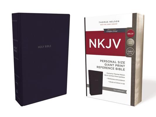 Image for NKJV Ref PS GP Bible Navy  LS