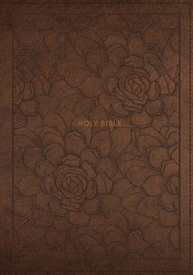 Image for NKJV, Single-Column Reference Bible, Leathersoft, Brown, Comfort Print