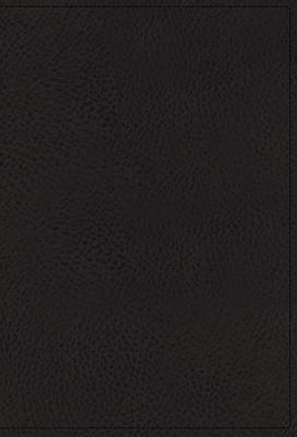 Image for NKJV, Single-Column Reference Bible, Genuine Leather, Black, Comfort Print: Holy Bible, New King James Version
