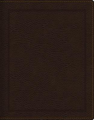 Image for KJV, Journal the Word Bible, Bonded Leather, Brown, Red Letter Edition, Comfort Print: Reflect, Journal, or Create Art Next to Your Favorite Verses