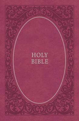 Image for NKJV, Holy Bible, Soft Touch Edition, Leathersoft, Pink, Comfort Print: Holy Bible, New King James Version