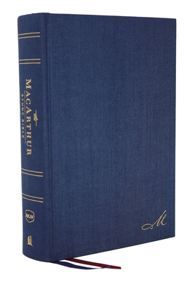 Image for The NKJV, MacArthur Study Bible, 2nd Edition, Cloth over Board, Blue, Comfort Print: Unleashing God's Truth One Verse at a Time