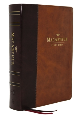 Image for The NKJV, MacArthur Study Bible, 2nd Edition, Leathersoft, Brown, Comfort Print: Unleashing God's Truth One Verse at a Time