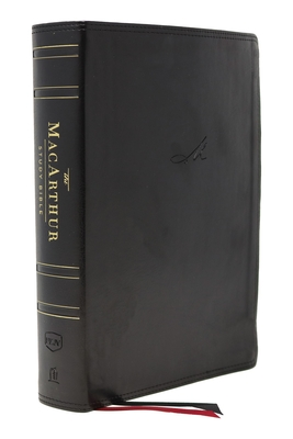 Image for The NKJV, MacArthur Study Bible, 2nd Edition, Leathersoft, Black, Comfort Print: Unleashing God's Truth One Verse at a Time