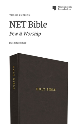 Image for NET Bible, Pew and Worship, Hardcover, Black, Comfort Print: Holy Bible