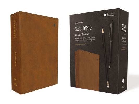 Image for NET Bible, Journal Edition, Leathersoft, Brown, Comfort Print: Holy Bible
