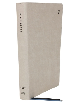 Image for NET Bible, Thinline, Leathersoft, Stone, Comfort Print: Holy Bible