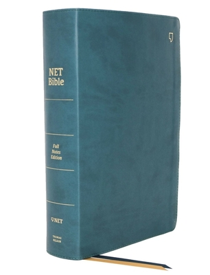 Image for NET Bible, Full-notes Edition, Leathersoft, Teal, Comfort Print: Holy Bible