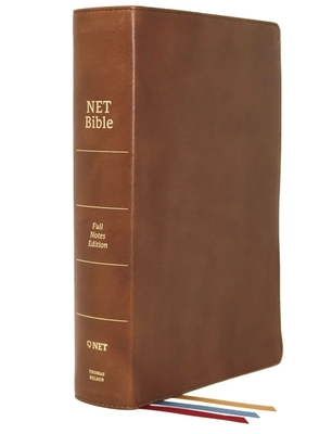 Image for NET Bible, Full-notes Edition, Genuine Leather, Brown, Comfort Print: Holy Bible