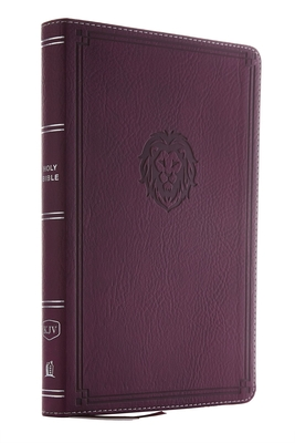 Image for KJV, Thinline Bible Youth Edition, Leathersoft, Purple, Red Letter Edition, Comfort Print: Holy Bible, King James Version