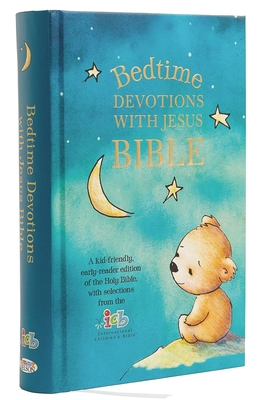 Image for ICB, Bedtime Devotions with Jesus Bible, Hardcover
