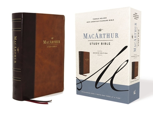 Image for NASB, MacArthur Study Bible, 2nd Edition, Leathersoft, Brown, Comfort Print: Unleashing God's Truth One Verse at a Time