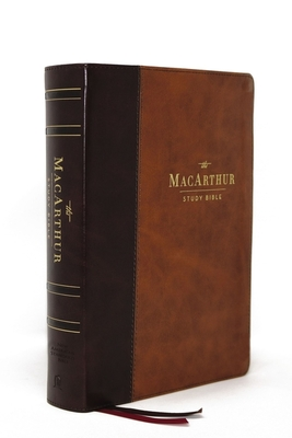 Image for NASB, MacArthur Study Bible, 2nd Edition, Leathersoft, Brown, Thumb Indexed, Comfort Print: Unleashing God's Truth One Verse at a Time