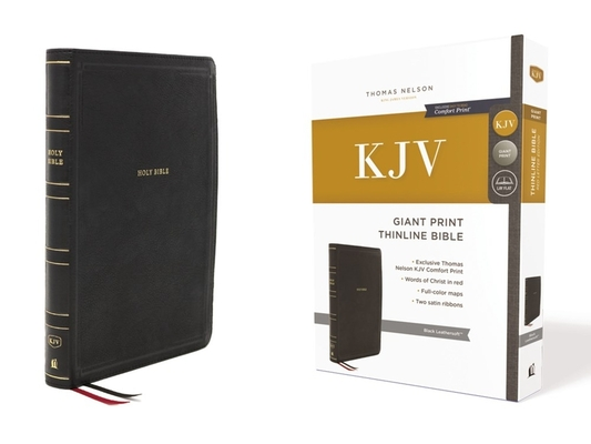 Image for KJV Giant Print Thinline Bible Black Leathersoft