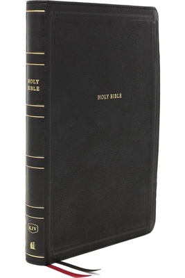 Image for KJV Giant Print Thinline Bible Black Leathersoft - Thumb Index