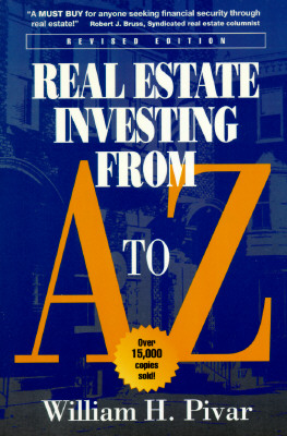Image for Real Estate Investing from A to Z: The Most Comprehensive, Practical, and Readable Guide to Investing Profitably in Real Estate [Revised Edition]