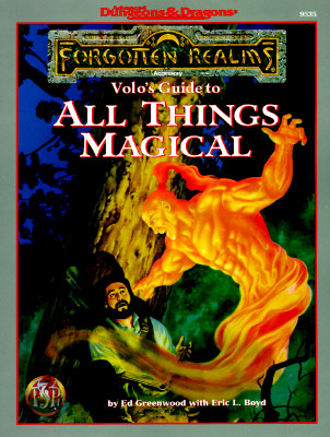 Image for Volo's Guide to All Things Magical (Advanced Dungeons & Dragons: Forgotten Realms)