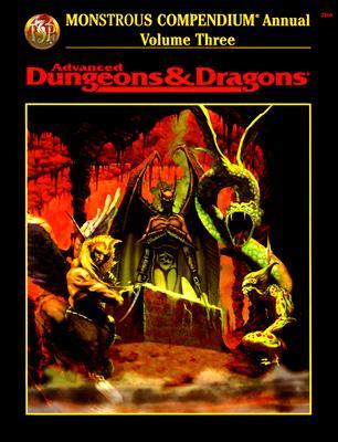 Image for Monstrous Compendium Annual Volume Three