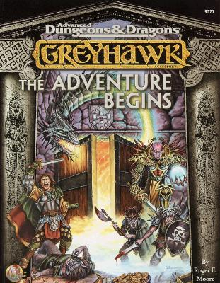 Image for Greyhawk: The Adventure Begins (Advanced Dungeons & Dragons)