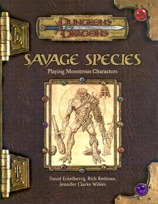 Image for Savage Species: Playing Monstrous Characters (Dungeons & Dragons Supplement)