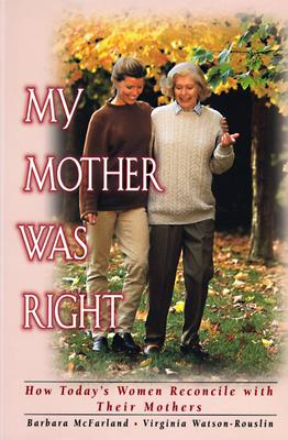Image for MY MOTHER WAS RIGHT