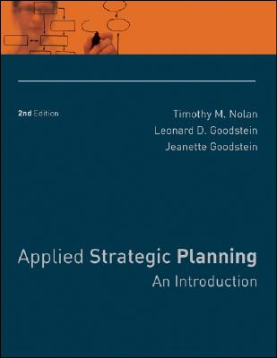 Image for Applied Strategic Planning: An Introduction