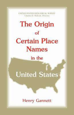 Image for The Origin of Certain Place Names in the United States