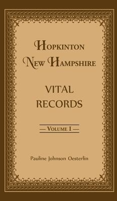 Image for Hopkinton, New Hampshire, Vital Records, Volume 1