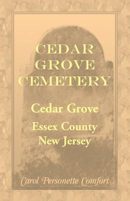 Image for Cedar Grove Cemetery, Cedar Grove, Essex County, New Jersey