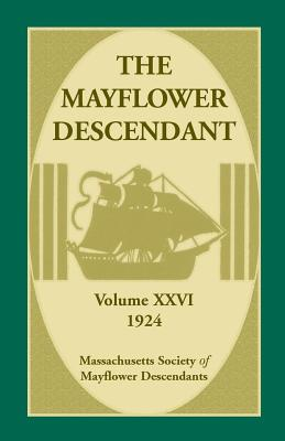 Image for The Mayflower Descendant, Volume 26, 1924