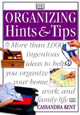 Image for Organizing Hints & Tips
